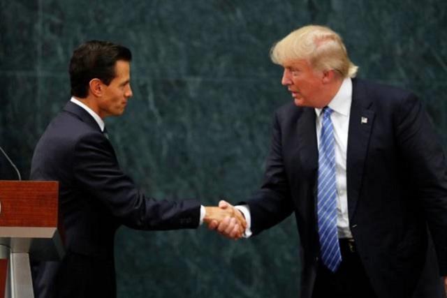 EPN le revira a Trump que México no pagará el muro ni ahora ni nunca