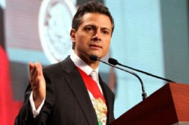Peña Nieto expresa su reconocimiento a la comunidad LGBTI