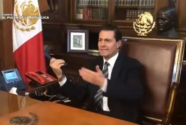EPN y Chumel Torres protagonizan sketch para El Pulso de la República