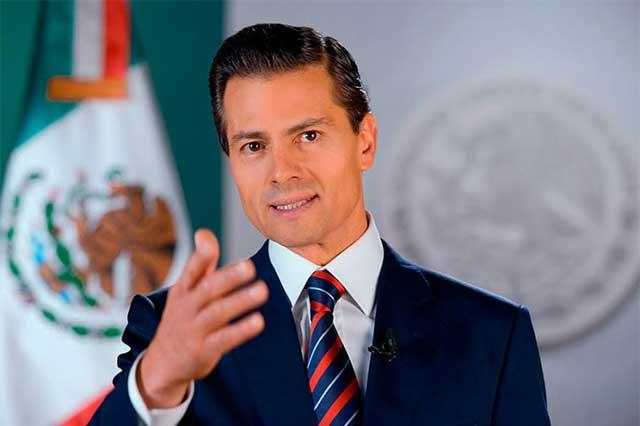 EPN le asegura a DiCaprio que México sí protege a la vaquita marina