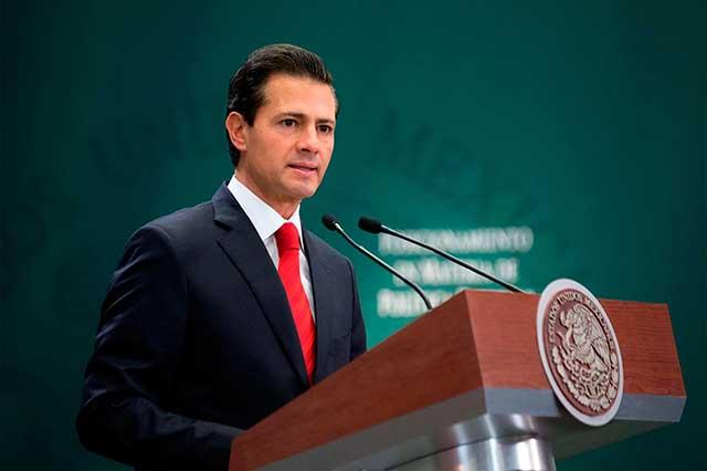 EPN afirma que el candidato del PRI debe tener una trayectoria honesta