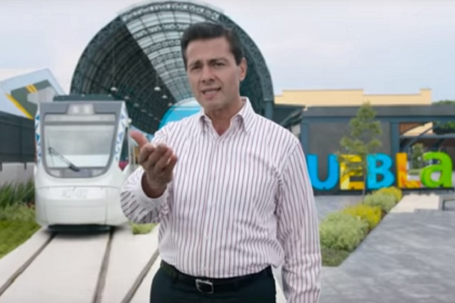Afirma Peña que son federales megaobras que presume RMV
