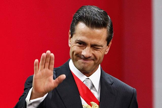 Peña Nieto propone organizar tandas para reconstruir casas tras sismos