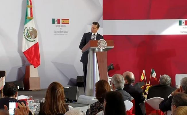 EPN advierte que no reconocerá la independencia de Cataluña