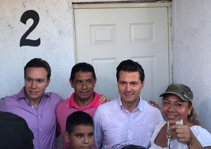 Peña supervisa tareas de reconstrucción tras sismo en Chiapas