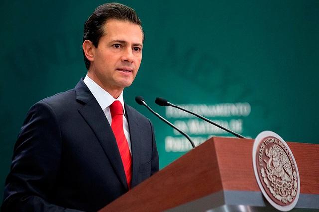 EPN reconoce que aún falta camino por recorrer en derechos humanos