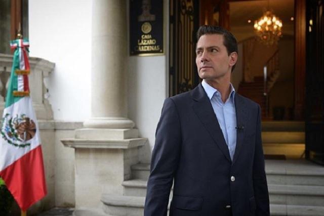 Peña Nieto desmiente que se haya ido a vivir a España
