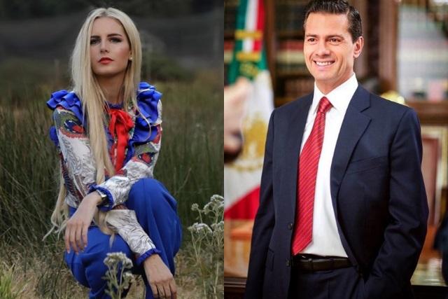 Captan a Enrique Peña Nieto con modelo mexicana en Madrid