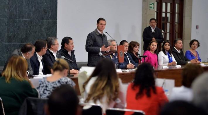 Promulga EPN la Ley General sobre Desapariciones