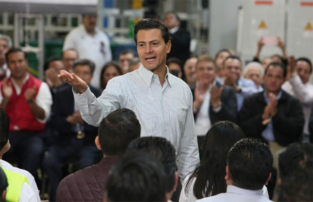 EPN destaca récord de empleos generados en junio