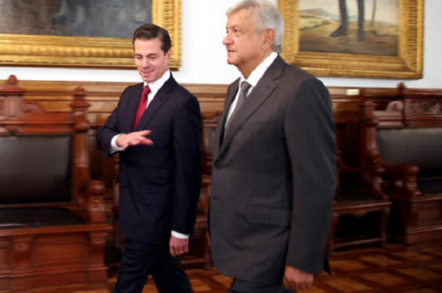 EPN recomienda a AMLO que use la seguridad del Estado Mayor Presidencial