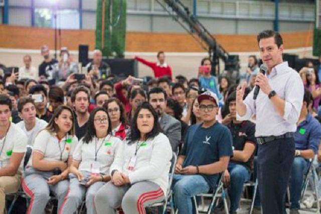 Candidatos no saben lo difícil que es ser presidente, dice EPN