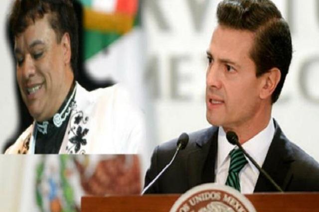 EPN podría asistir a Bellas Artes a rendir homenaje a Juanga