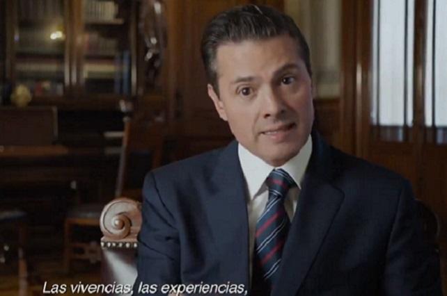 El México que entrego es mejor que el de hace 6 años, dice EPN