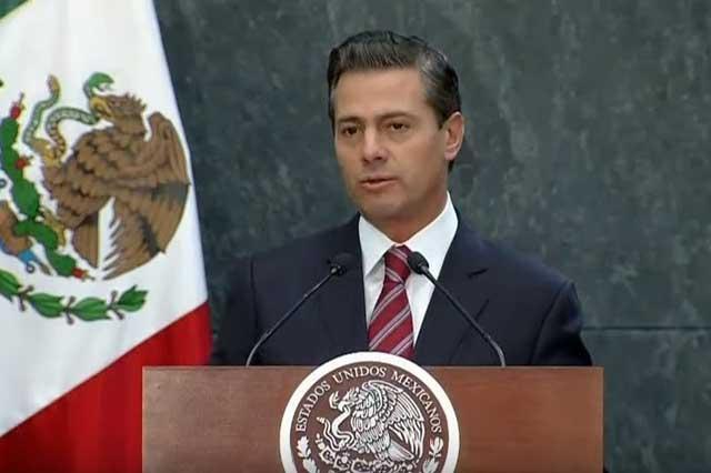 Anuncia EPN que aceptó la renuncia de José Antonio Meade