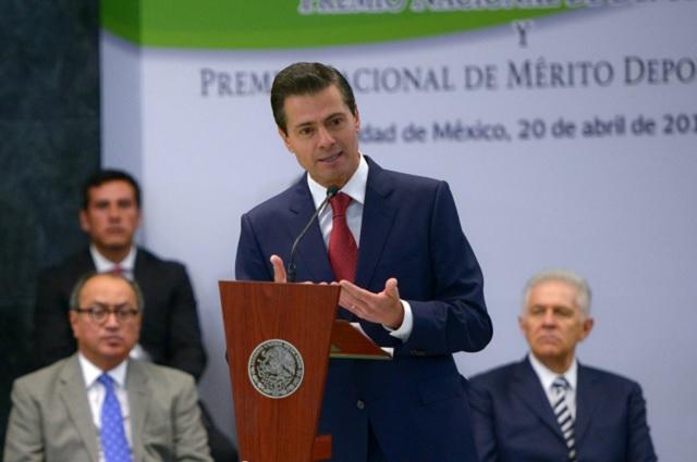 EPN admite que en seguridad pública hay mucho por hacer