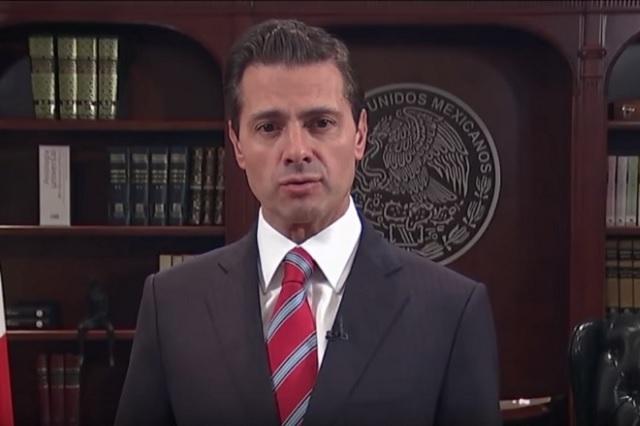 EPN advierte que México no permitirá la entrada violenta de migrantes