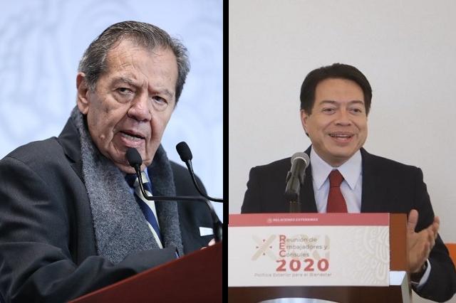 Se suman diputados y senadores a conflicto por la dirigencia de Morena