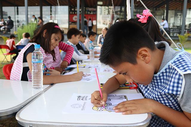 Niñas y niños aprenden sobre equidad de género en Ciudad Judicial