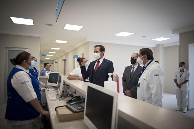 Equipan Hospital Universitario con servicios hidrosanitarios