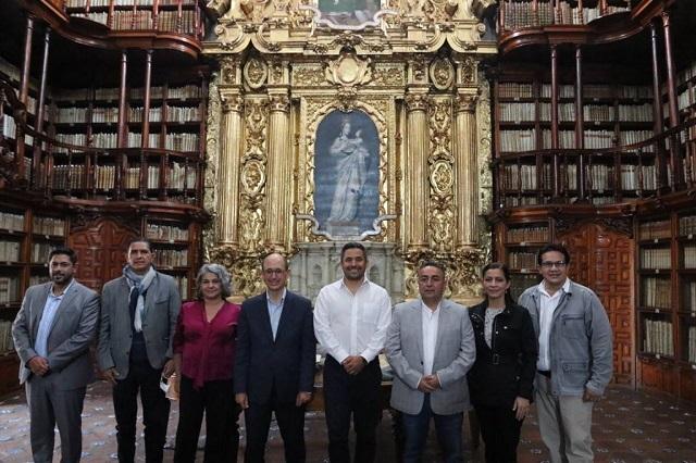 Equipo de Eduardo Rivera recibe a alcaldes de Ecuador