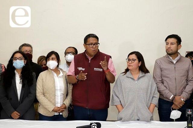 Equipo de Claudia Rivera esperará resultado oficial