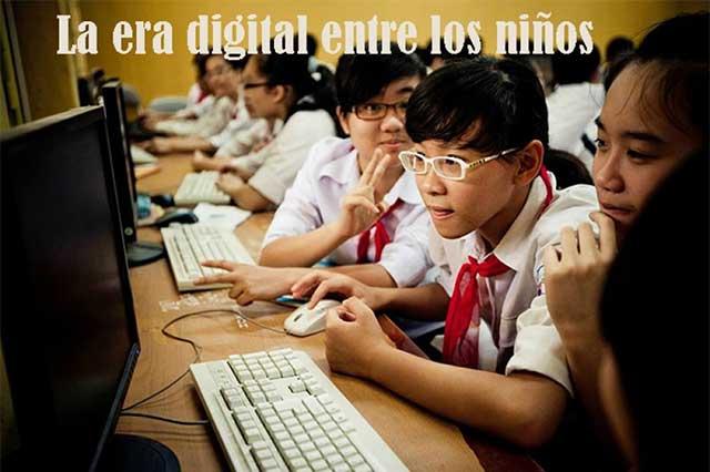La era digital entre niños, riesgo constante en la red