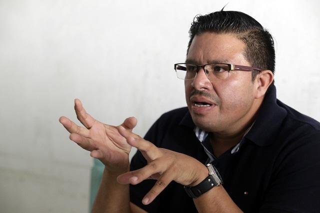 Con estructura de expriístas, Mario Riestra infló padrón del PRD