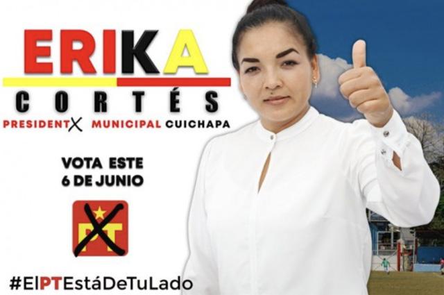 Candidata del PT en Veracruz renuncia tras amenazas