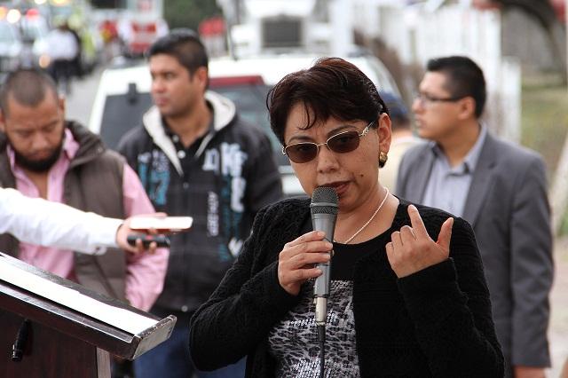 Alcaldesa de Tehuacán pide diálogo al gobernador Gali