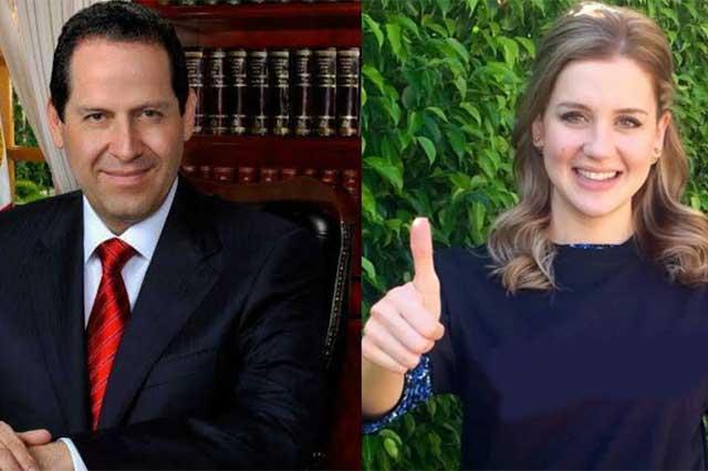 Eruviel Ávila publica en Twitter que amaneció felizmente casado