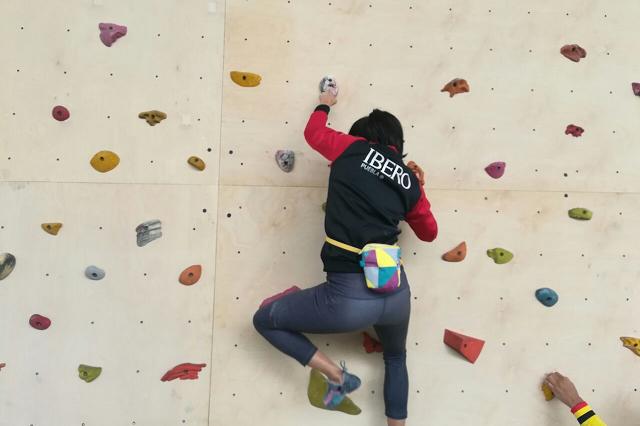Mariana Fierro es campeona nacional en escalada deportiva