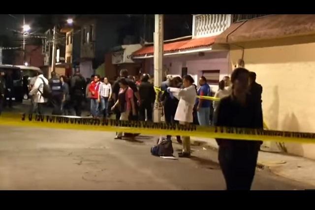 Caen 7 sujetos por ataque en Iztapalapa en el que murieron 7 personas