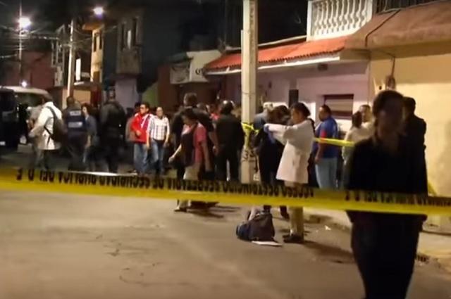 Revisan cámaras para identificar a los que mataron a 6 personas en Iztapalapa
