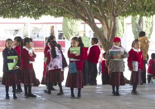 Informa SEP que este viernes se reanudan clases en 87 municipios