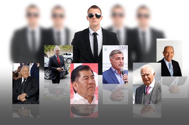 Se quedarían sin sus guaruras seis exgobernadores de Puebla