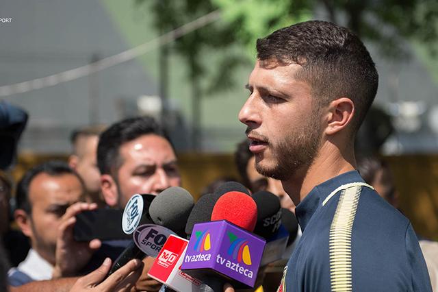 El escudo que llevamos significa ganar todo: Guido Rodríguez