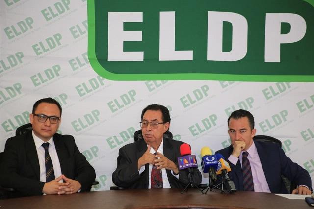 Advierten en ELDP riesgos políticos por la revocación de mandato