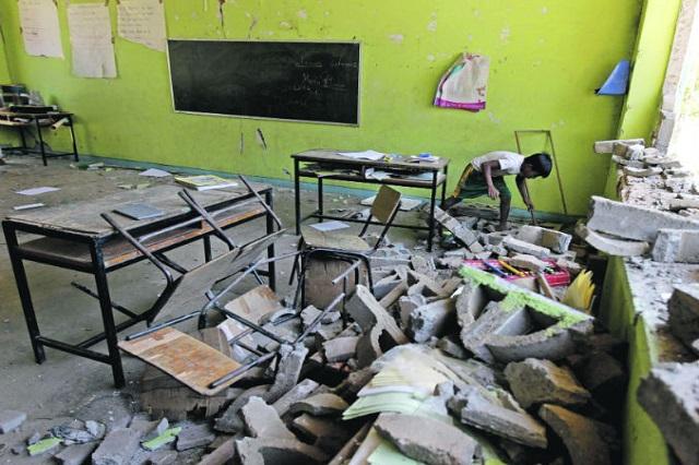 Reubicarán en Puebla a 189 mil alumnos tras sismo, revela SEP