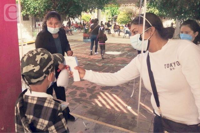 Sin contratiempos regresan a clases en la Mixteca Poblana