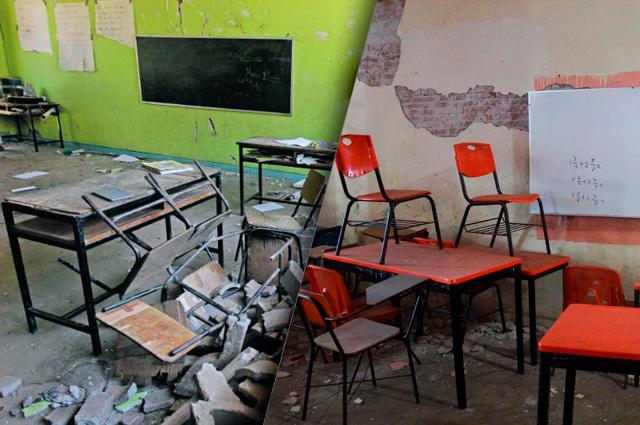 A casi 2 años del sismo hay más de 400 escuelas sin reparar en Puebla