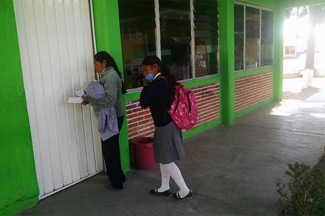 Refuerzan universidades y escuelas medidas contra la influenza