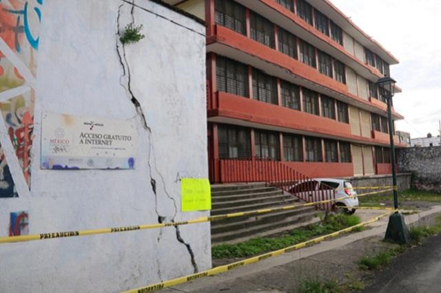 Continuarán sin clases escuelas en 112 municipios de Puebla