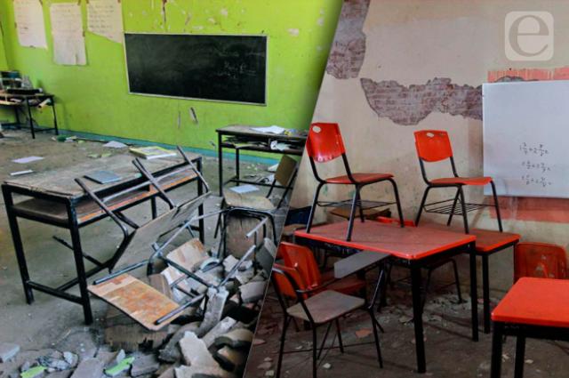 Buscan ayuda para escuelas vandalizadas en pandemia