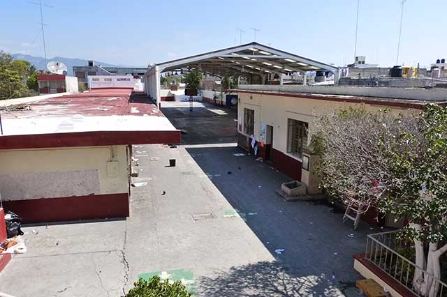PC no tiene planos estructurales de las escuelas de Puebla, reconoce