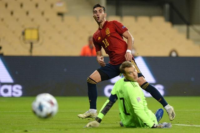 España humilla 6-0 a Alemania y avanza como líder en UEFA Nations League