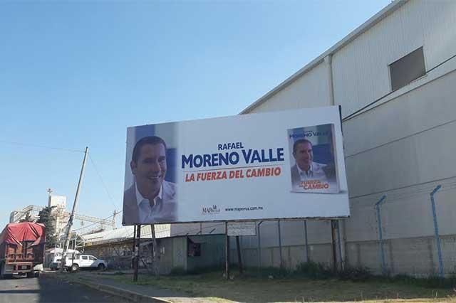 Con espectaculares en Tlaxcala RMV sigue promoviendo su imagen