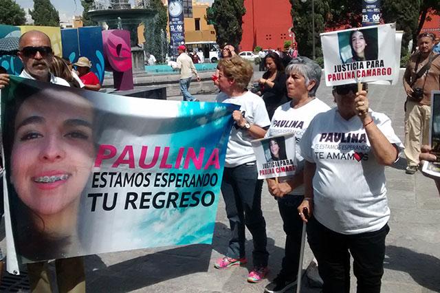 Participa madre de Paulina en marcha: seguiré buscándola, dice