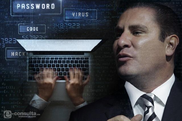 PGR no atiende espionaje porque RMV es su cuate, dice Manzanilla