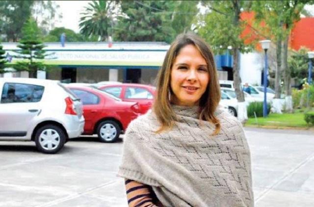 Ella es Arantxa Colchero, esposa de Hugo López-Gatell